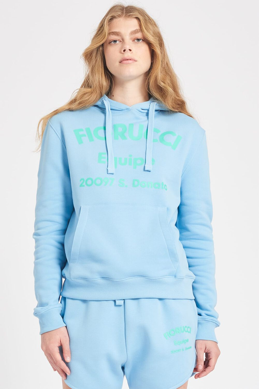Equipe Logo Hoodie Pale Blue