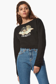 Angel Super Crop Sweatshirt
