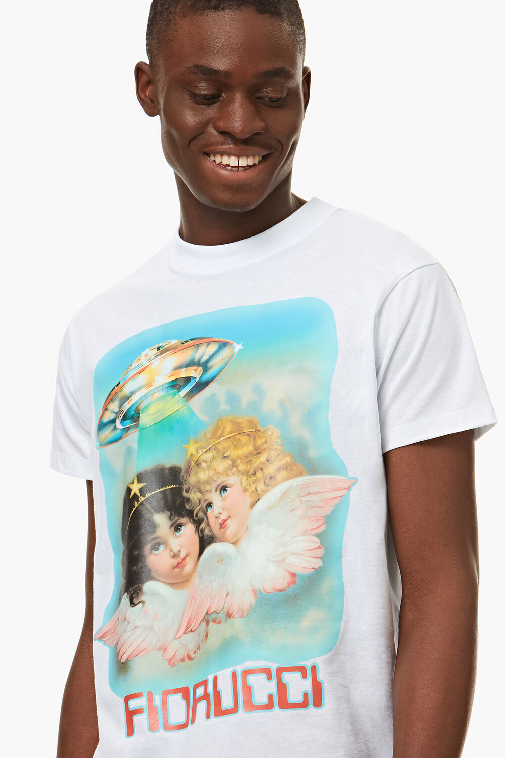 Angels UFO T-Shirt White