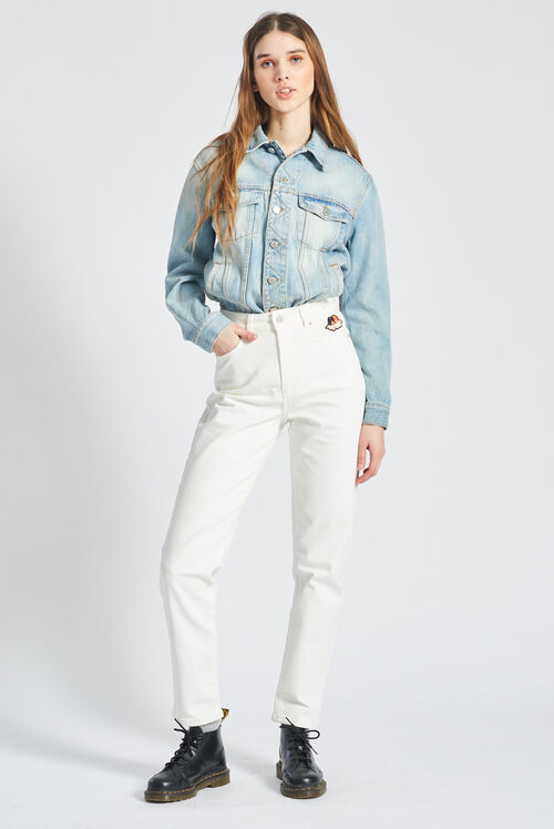 Icon Angels Tara Jeans Cream