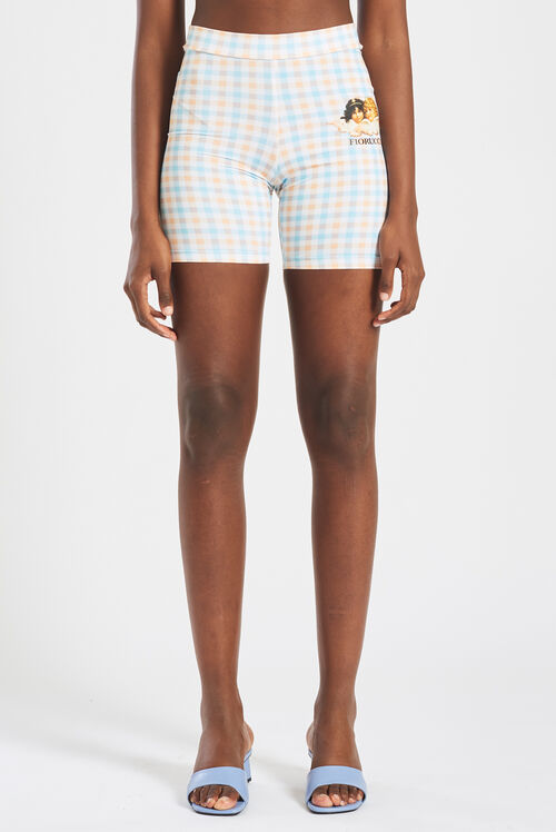 Gingham Angels Cycling Short Multi