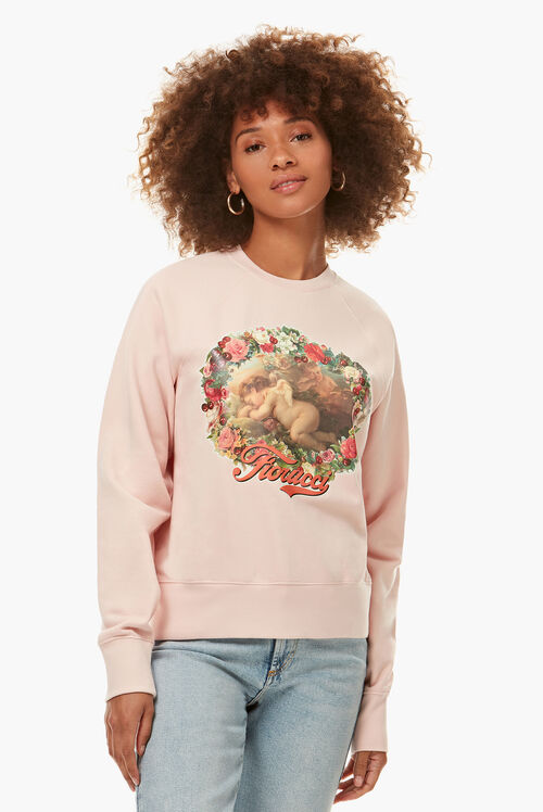 Sleepy Cherub Sweatshirt Pink