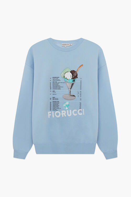 Gelato Bar Sweatshirt Blue