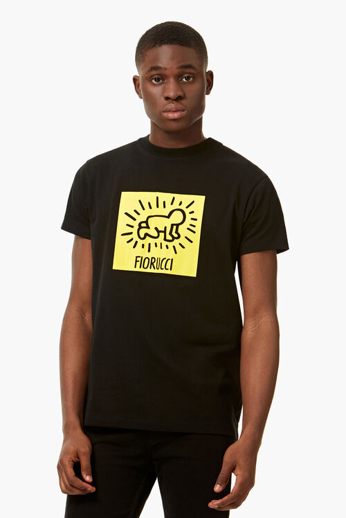 Keith Haring T-Shirt Black