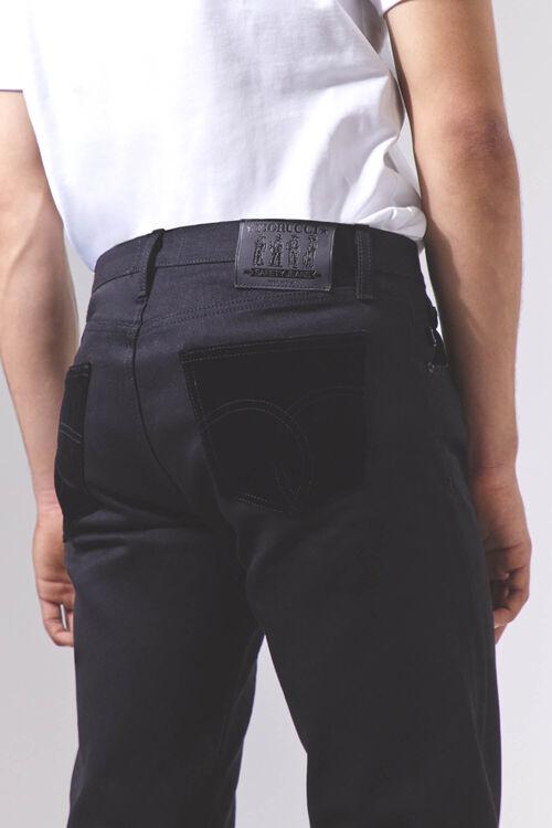 Rowan Slim Jeans With Velvet Pockets