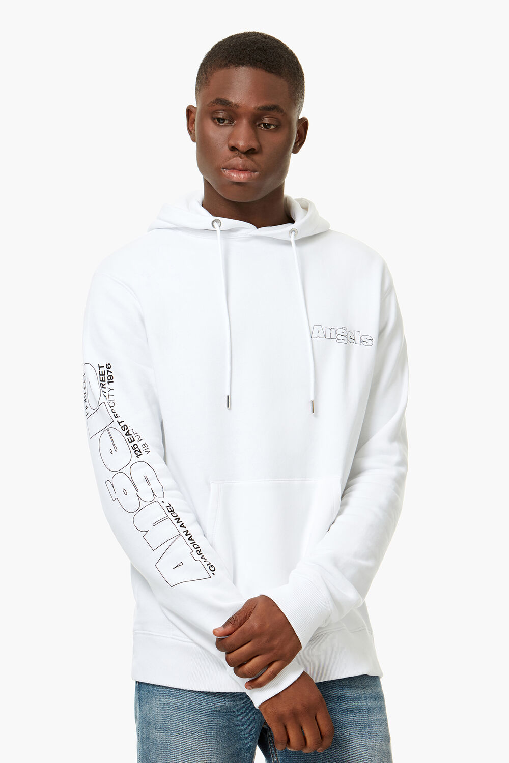 New York Angels Hoodie White