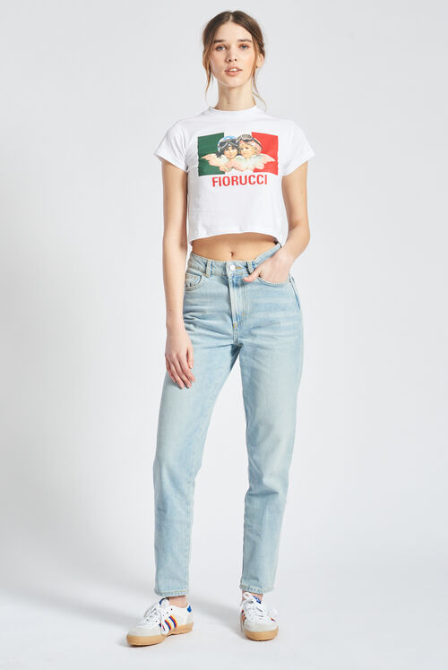 Racing Angels Tara Tapered Jeans Blue