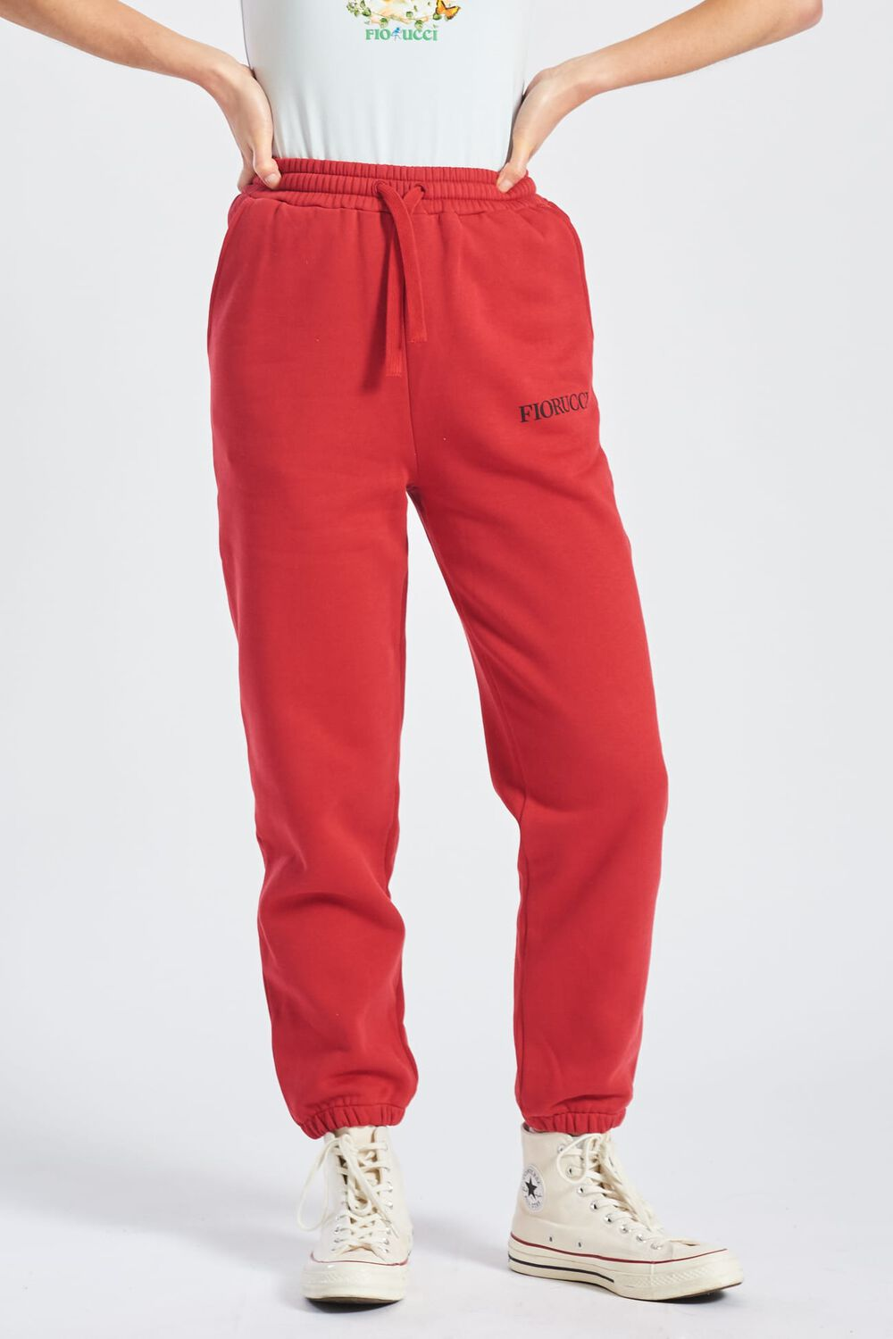 Angels Joggers Berry Red