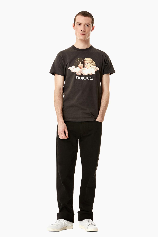 Vintage Angels T-Shirt Dark Grey