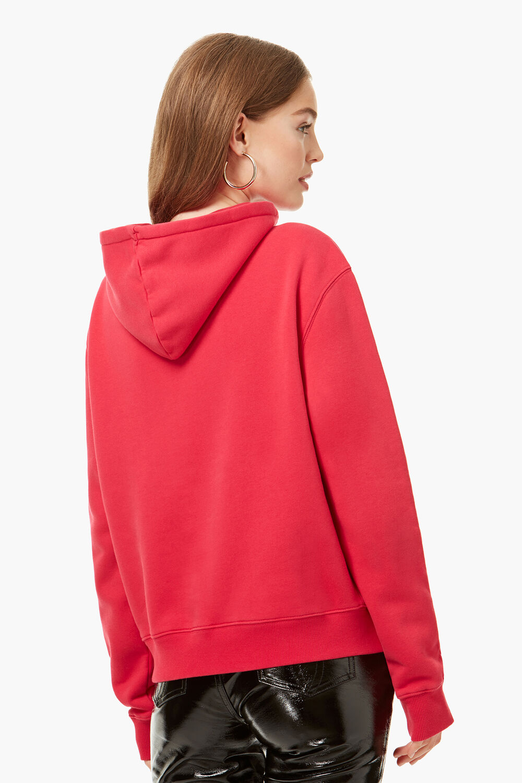 Vintage Angels Hoodie Rubin Red