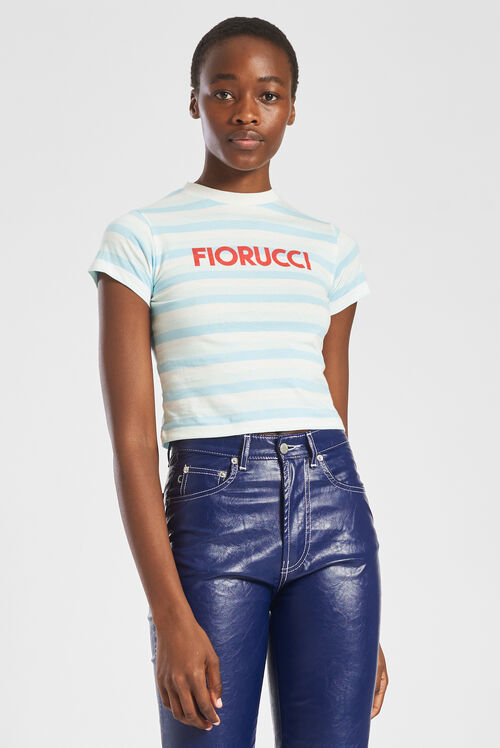 Fiorucci Stripe T-Shirt Multi