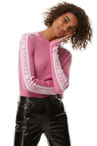 Rib Fiorucci Logo Sweater