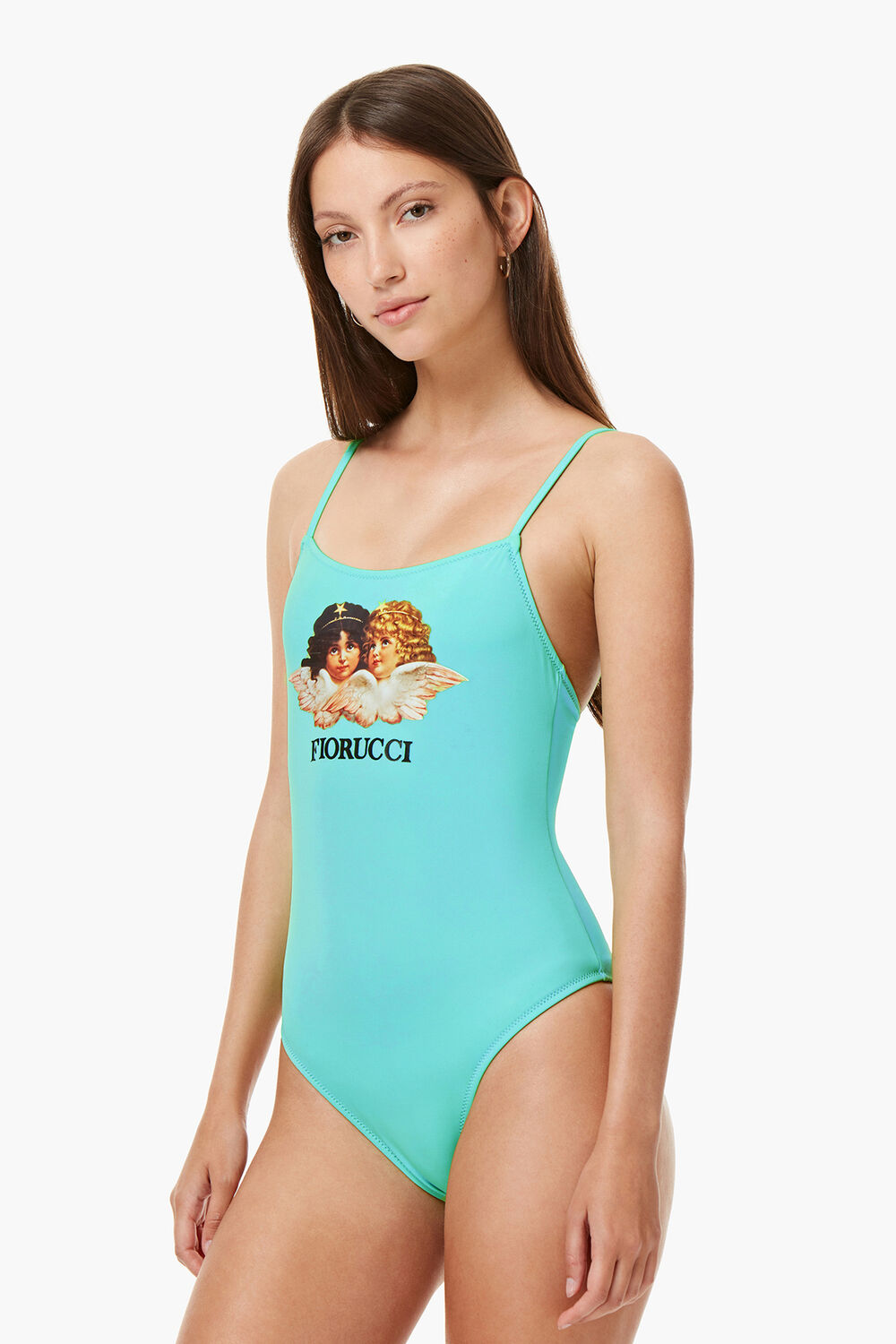 Angels Swimsuit Turquoise