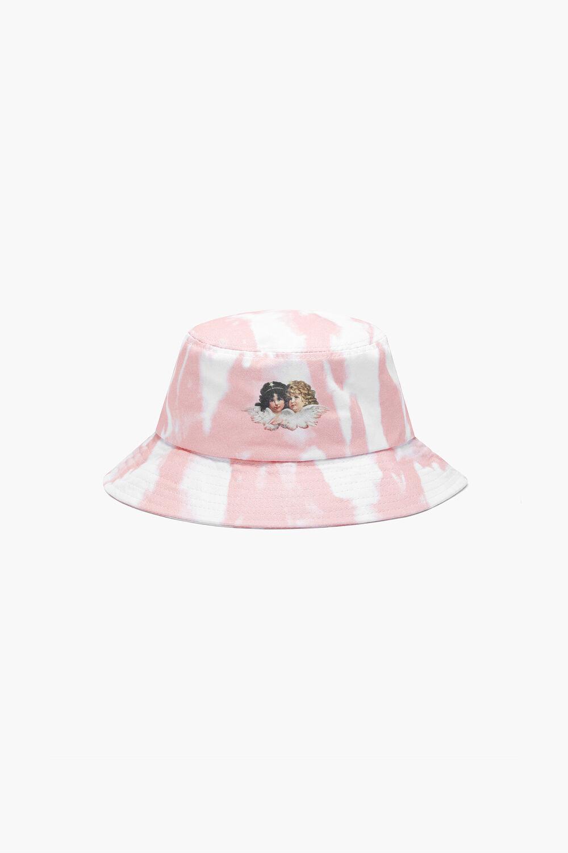 Tie Dye Bucket Hat Pink