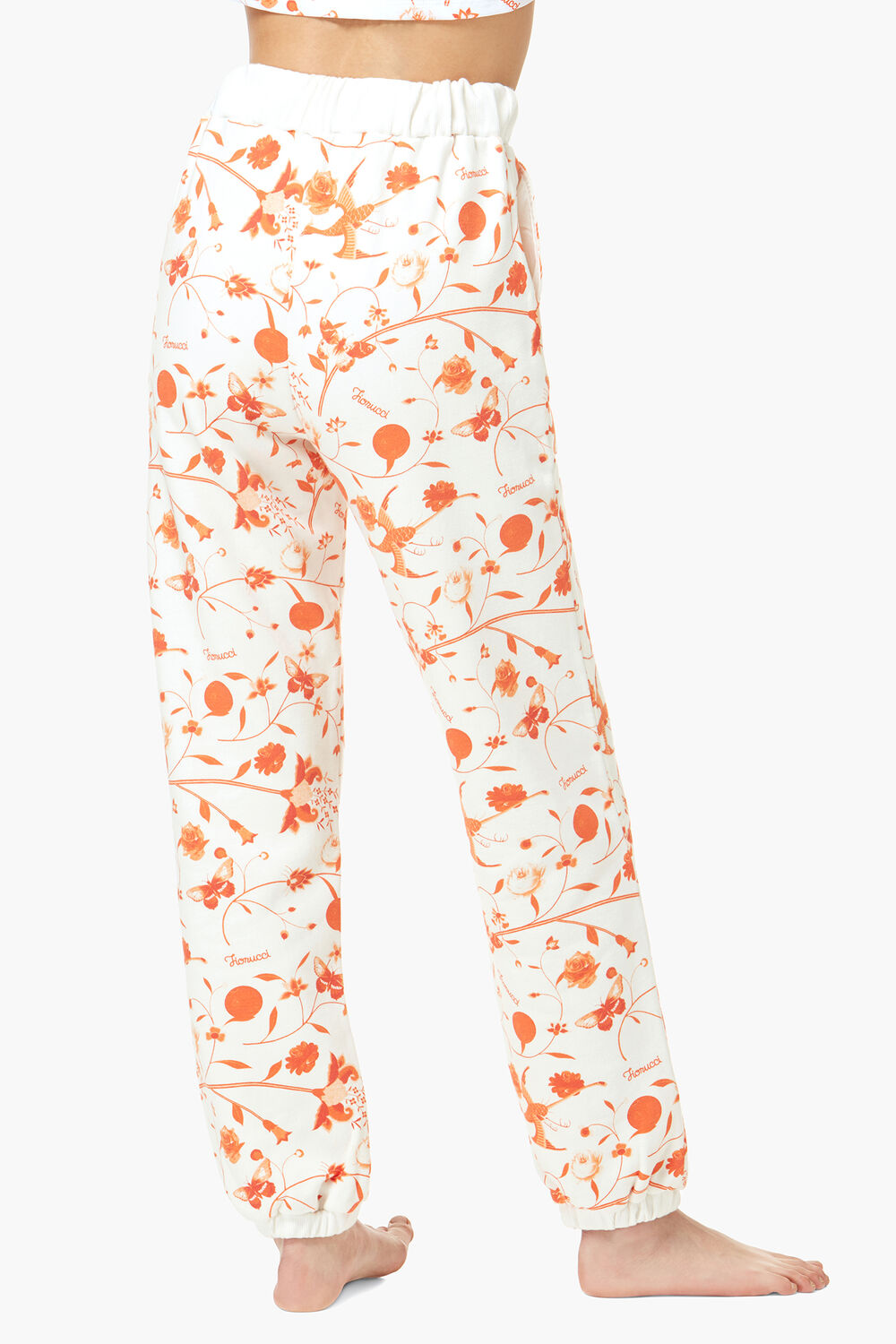 Lunar Capsule All Over Print Joggers White