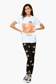 Cherub Graphic T-Shirt White