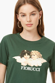 Vintage Angels T-Shirt Forest Green