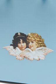 Angels Mini Handbag Pale Blue