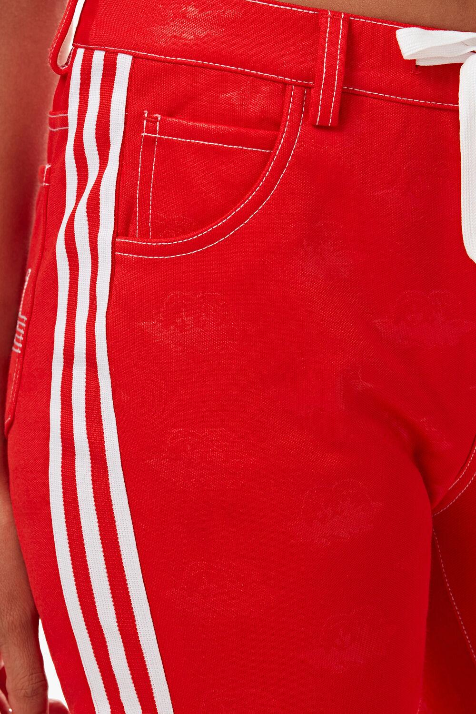 Adidas x Fiorucci Jacquard Angel Track Pant Red