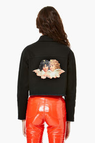 Berty Angel Patch Jacket Black