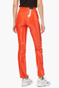 Yves Vinyl Trouser Orange
