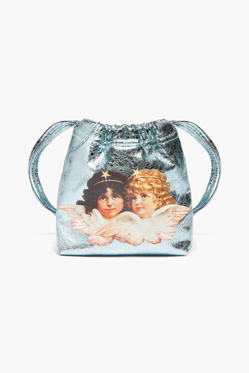 Angels Pouch Bag Blue