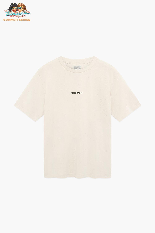 Boys Get Sad Too Logo T-Shirt Raw