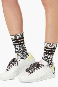 Adidas x Fiorucci 2 Pack Printed Socks