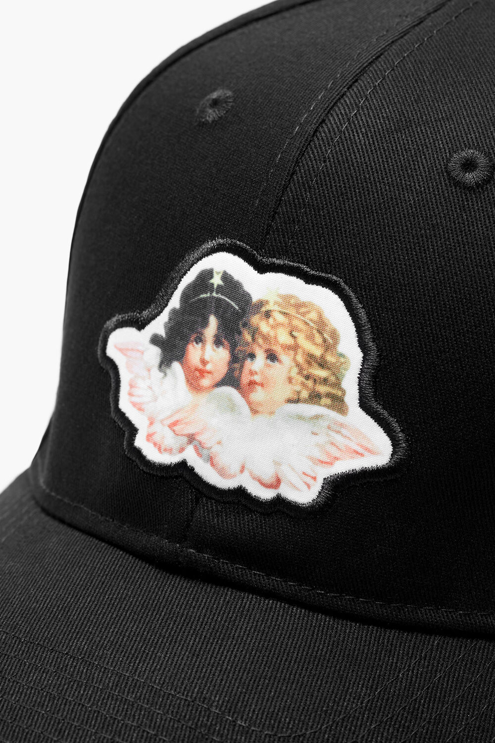 Angel Logo Cap Black