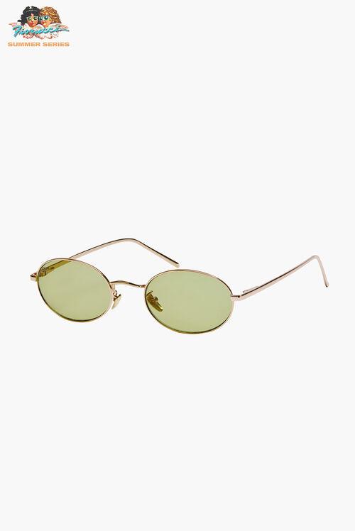 Reality Eyewear Helsinki Gold Sunglasses