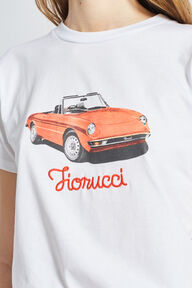 Racing Car T-Shirt White