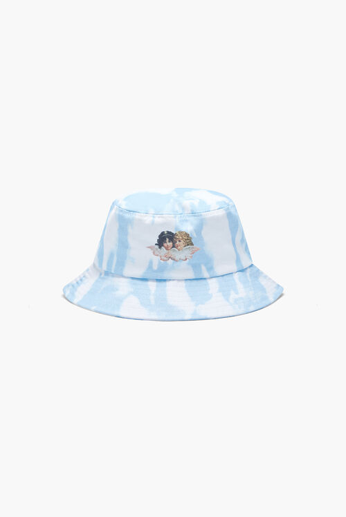 Tie Dye Bucket Hat Blue