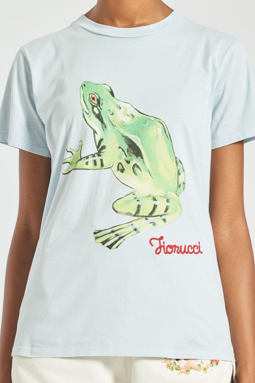 Woodland Frog T-Shirt Pale Blue