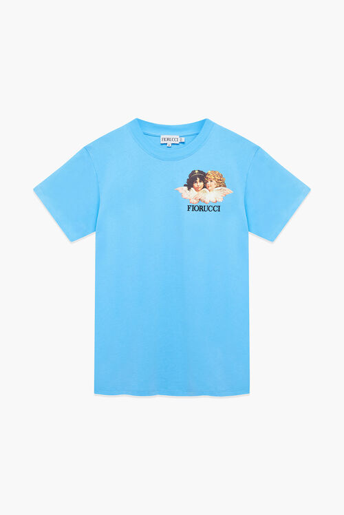 Angels Logo T-Shirt Light Blue