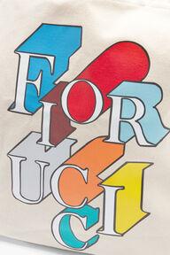Flying Logo Tote Cream