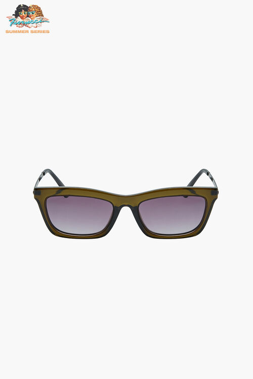 Reality Eyewear Bowery Olive Sunglasses