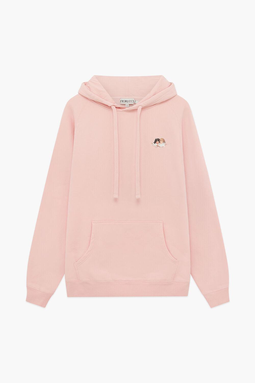 Icon Angels Hoodie Pale Pink