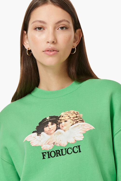Vintage Angels Sweat Italian Green