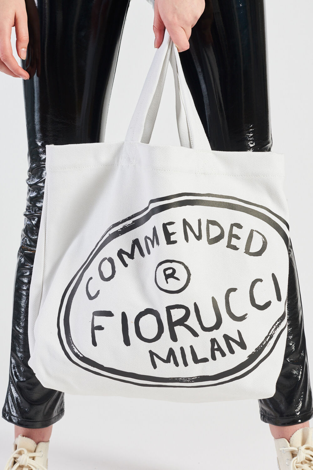 Commended Tote Bag White