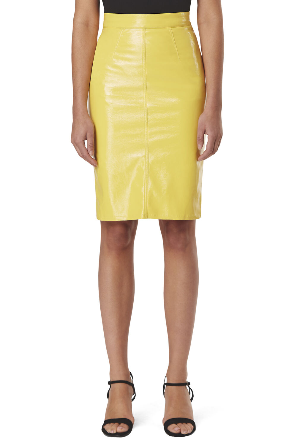 Margot  Vinyl Skinny Skirt