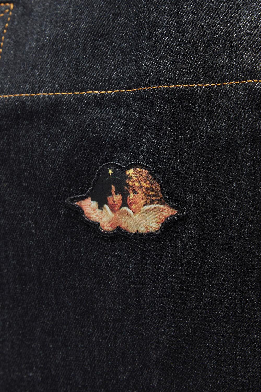 Icon Angels Tote Bag Black