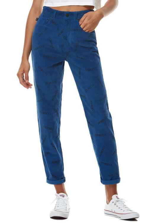 Tara Corduroy Jean Night Blue