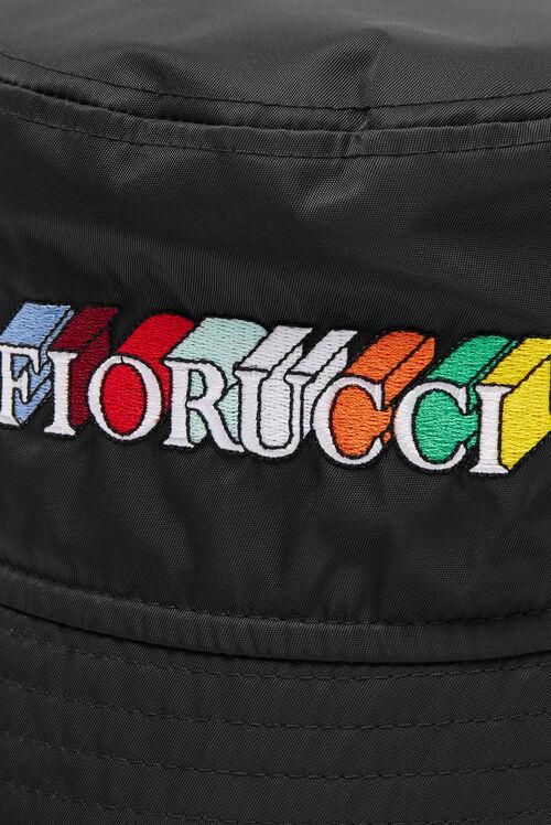 Monogram Logo Bucket Hat Dark Navy