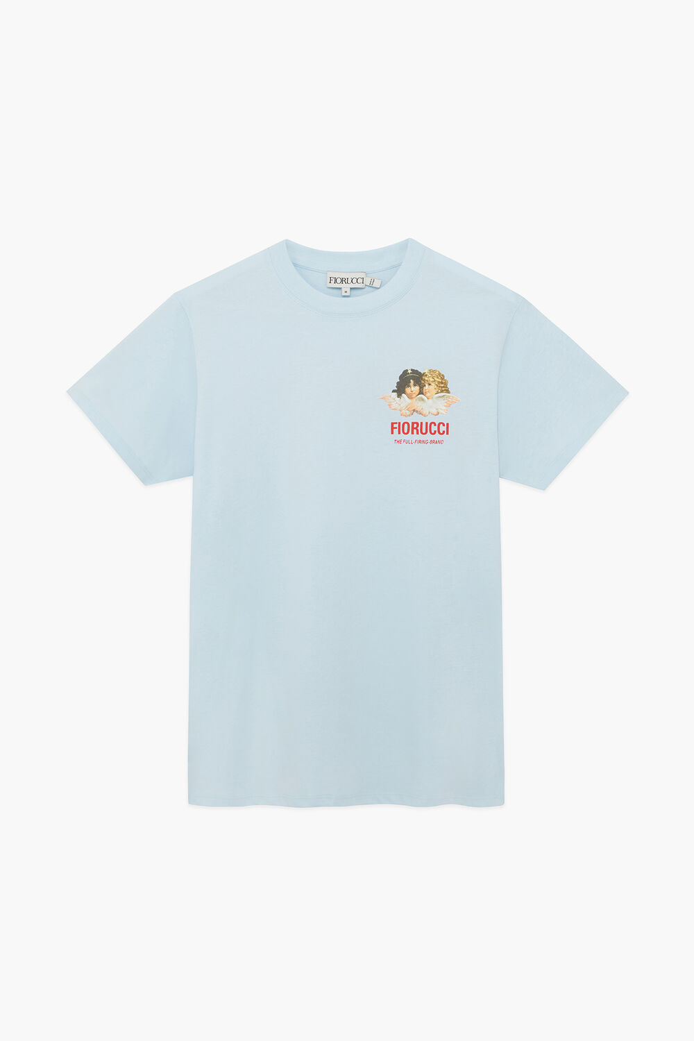 Race Angels T-Shirt Pale Blue