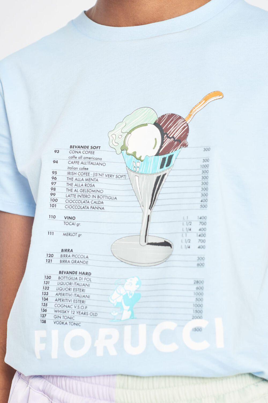 Gelato Graphic Logo T-Shirt Blue