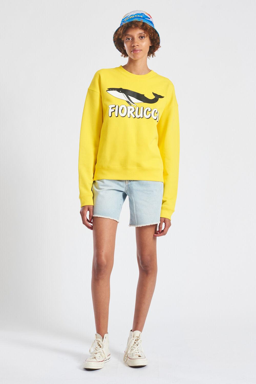 Big Fish Sweatshirt Yellow