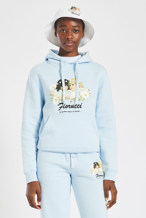 Daisy Angels Hoodie Pale Blue