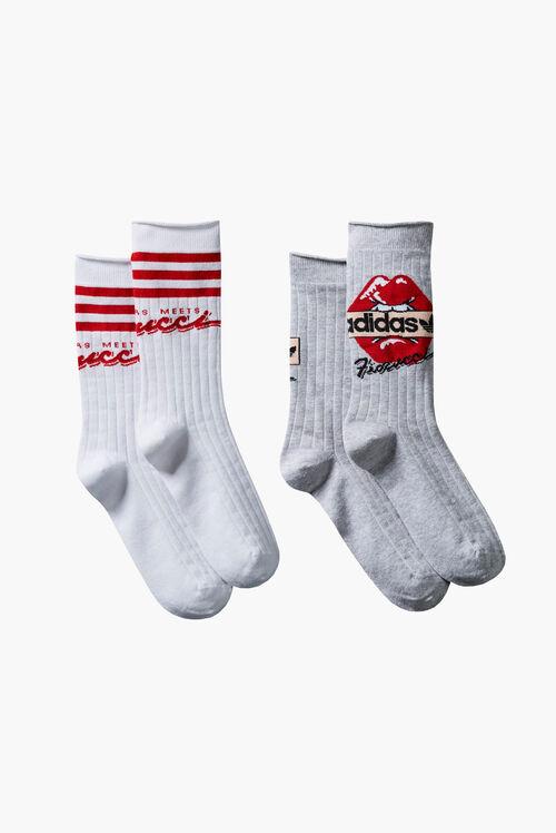 Adidas x Fiorucci 2 Pack Socks