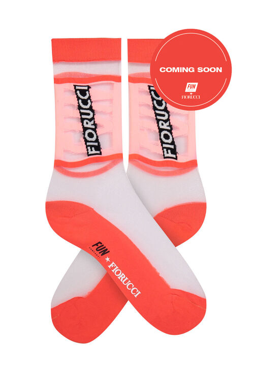 Fiorucci x Fun Women's Sheer Crew Socks
