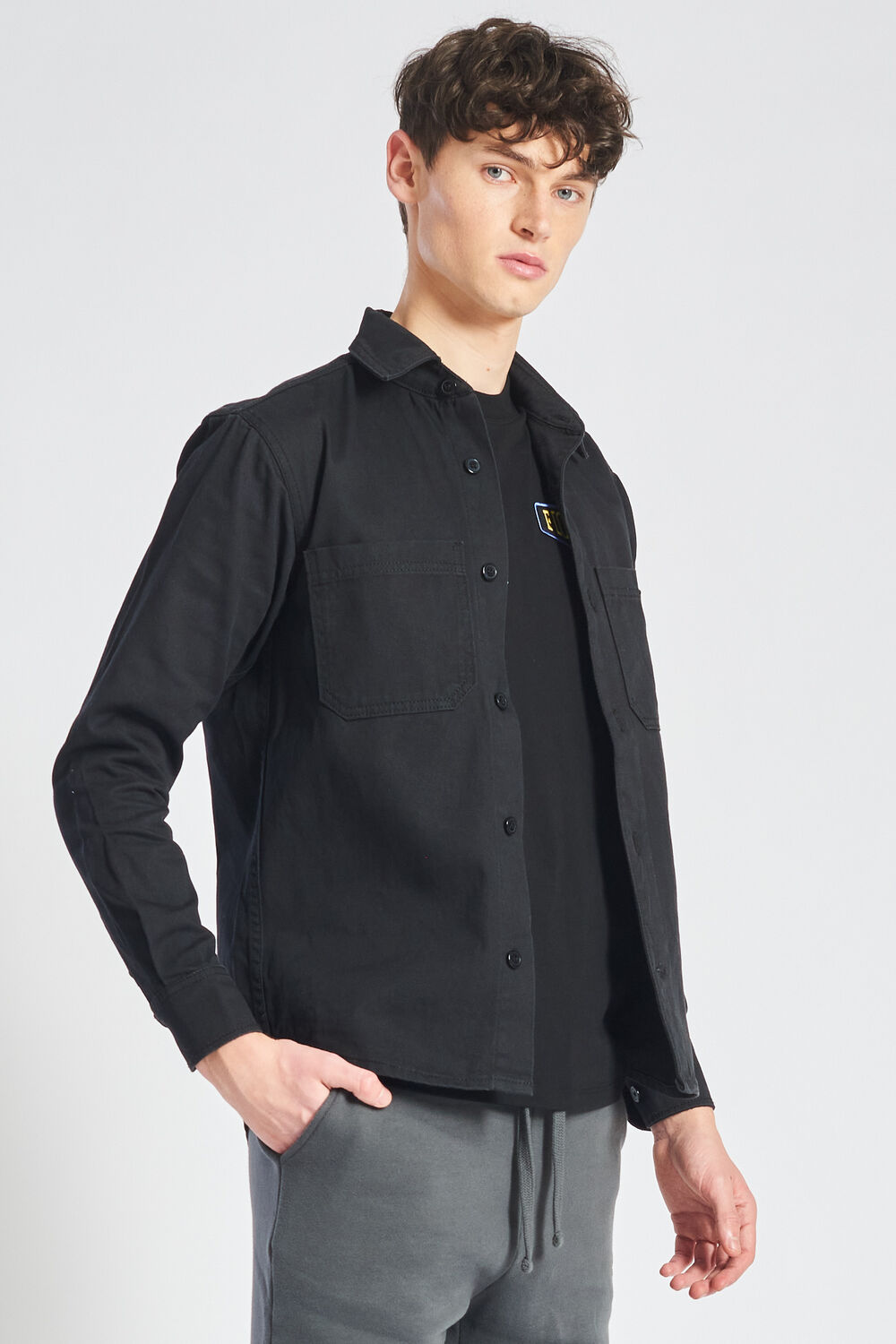 Icon Angels Overshirt Black